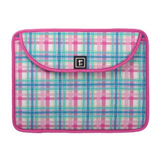 Tartan, plaid pattern sleeves for MacBook pro