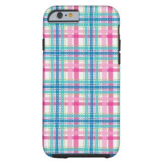 Tartan, plaid pattern tough iPhone 6 case