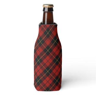 Tartan Red/Black Bottle Cooler