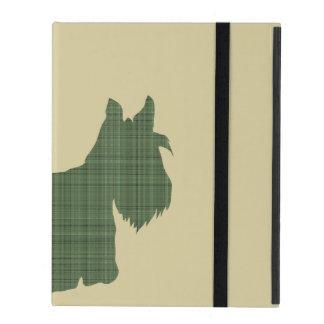 Tartan Scottie iPad Folio Case