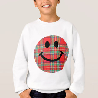 Tartan Scottish Smiley Sweatshirt