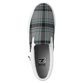Tartan Slip On Shoes