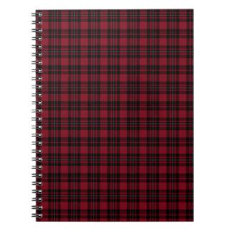 Tartan Spiral Notebook