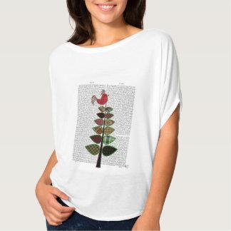 Tartan Tree Illustration T-Shirt