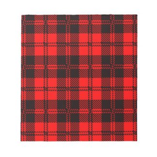 Tartan Wool Material Notepad