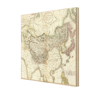 Tartary, Chinese & independent Canvas Print