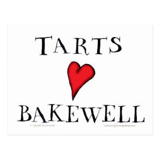 Tarts Love Bakewell, tony fernandes Postcard