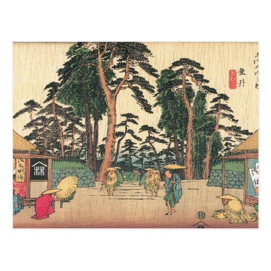 Tarui, Japan c. 1800's Postcard