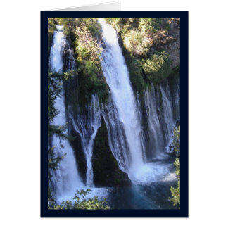 Tarzan's Waterfall- Song of Sol. 8:7 Greeting Card