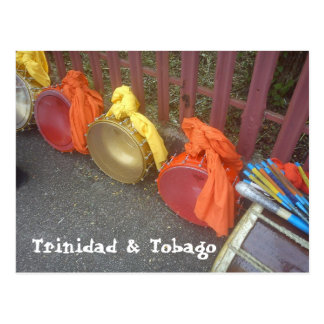 Tasas, Trinidad & Tobago Postcard