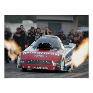 Tasca Quick Lube Funny Car Print