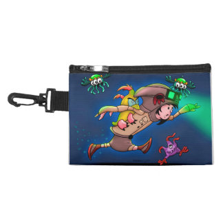 TASH AND PAL CLIP ON ACCESSORY BAG Monsters