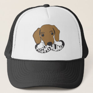 Tashshund Design Trucker Hat