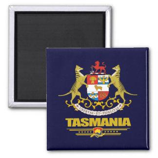 Tasmania COA Square Magnet