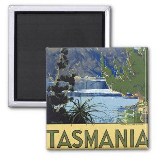 Tasmania Square Magnet