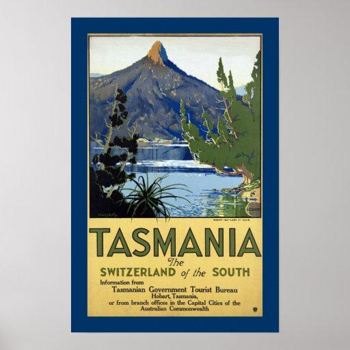 "Tasmania ""The Switzerland of the South"" Print"