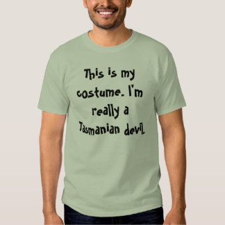 Tasmanian Devil Costume Shirt