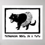 Tasmanian Devil in a Tutu