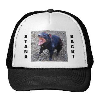 Tasmanian Devil Stand Back! Cap