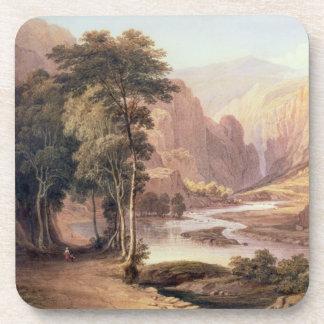 Tasmanian Gorge (w/c) Beverage Coaster