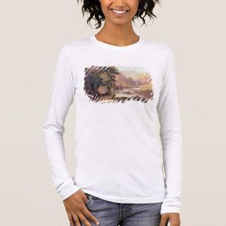 Tasmanian Gorge (w/c) Long Sleeve T-Shirt