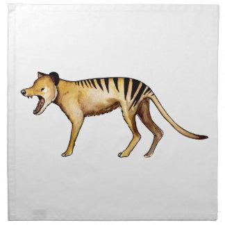 Tasmanian tiger, Thylacine Napkin