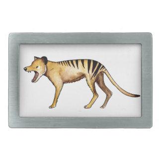 Tasmanian tiger, Thylacine Rectangular Belt Buckles