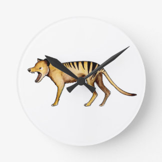 Tasmanian tiger, Thylacine Round Clock