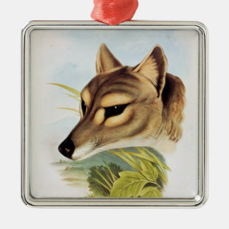 Tasmanian Wolf or Tiger Christmas Ornament