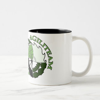 Tasse AGILITEAM Two-Tone Coffee Mug