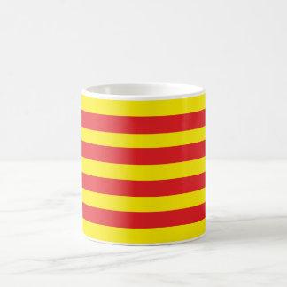 Tasse avec drapeau Catalan Senyera