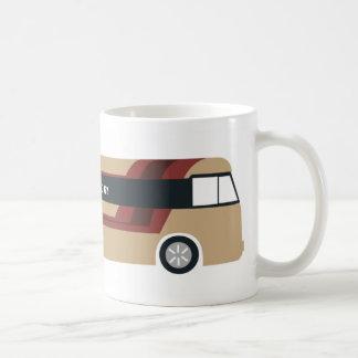 Tasse de bus touristique basic white mug