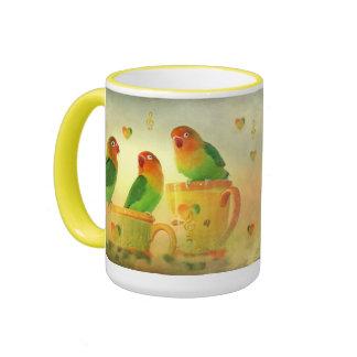 Tasse für die fröhliche Runde. Ringer Mug