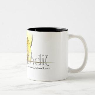 Tasse Logo Scratches Tolkiendil Two-Tone Mug