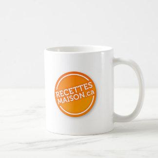 Tasse officielle RecettesMaison.ca Basic White Mug