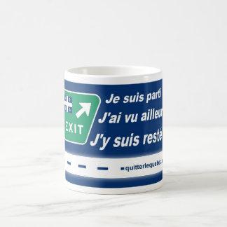 Tasse QuitterLeQuebec.com - Je suis parti Mugs