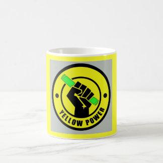 Tasse Yellow Power Basic White Mug