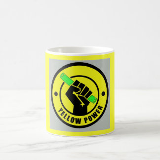 Tasse Yellow Power Mug