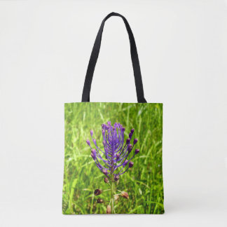 Tassel-Hyacinth All Over Print Tote Bag