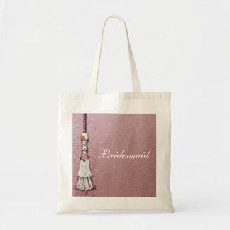 Tasseled Rose Dreams Budget Tote Bag