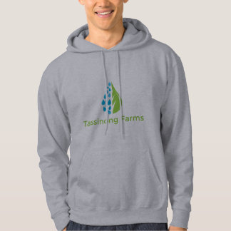 Tassinong Farms Grey Hoodie Sweatshirt