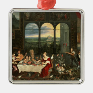 Taste, Hearing and Touch, 1618 Christmas Ornament
