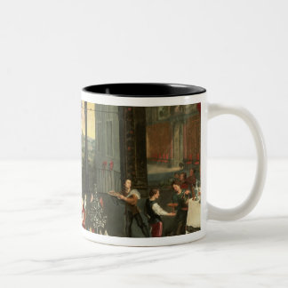 Taste, Hearing and Touch, 1618 Two-Tone Coffee Mug