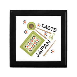 Taste Of Japan Small Square Gift Box