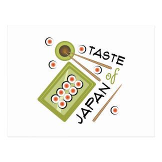 Taste Of Japan Postcard