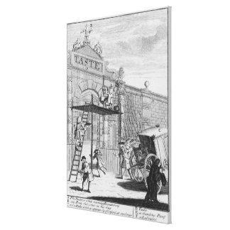 Taste, or Burlington Gate, 1732 Canvas Print