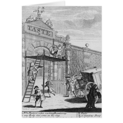 Taste, or Burlington Gate, 1732 Greeting Card