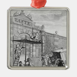 Taste, or Burlington Gate, 1732 Christmas Ornament