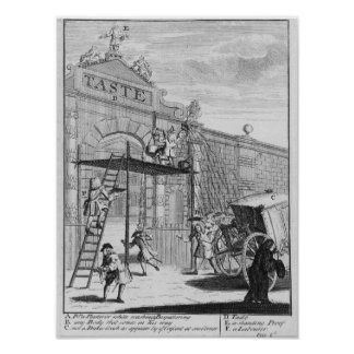 Taste, or Burlington Gate, 1732 Poster
