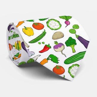 Taste Vegan colorful Tie